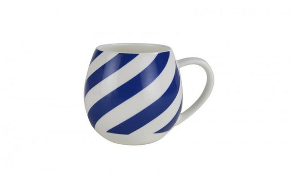Mini Hug Me Mug Blue and White Stripe