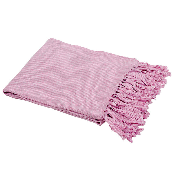 Neve Bamboo Throw Rug Lilac