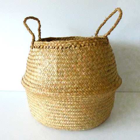 Small Belly Basket Natural
