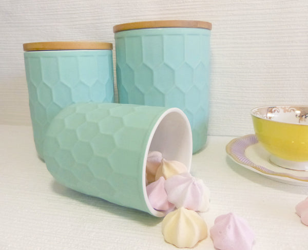 Bloomingville Canister Set Mint