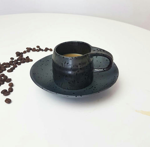 Merchant Cup and Saucer Charcoal