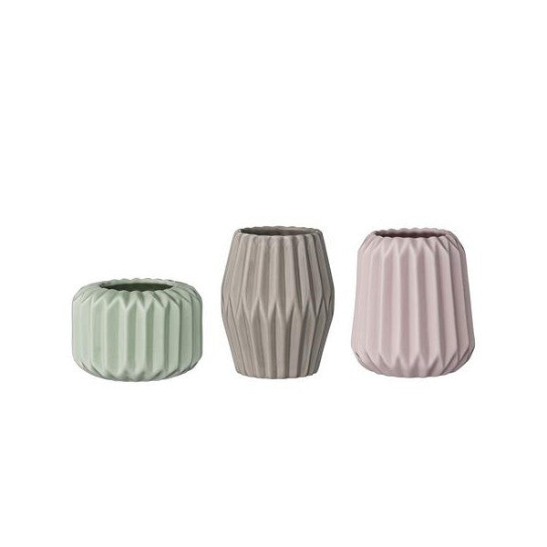 Porcelain Votive Set