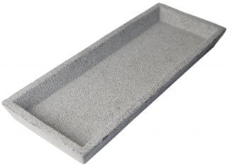 Concrete Rectangle Tray Natural