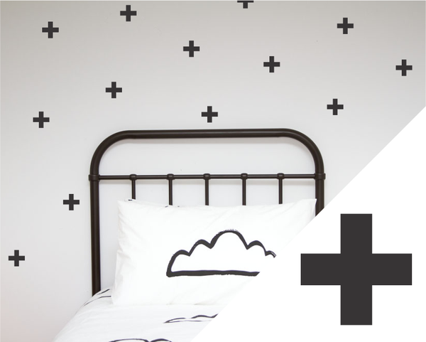 Wall Decals Large Crosses