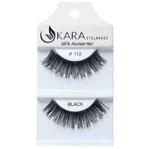 112 HUMAN HAIR <BR> Eyelashes