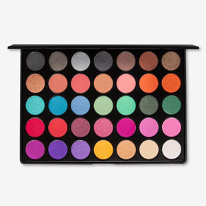 Kara Beauty ES1S PROFESSIONAL <br> Satin Eyeshadow Palette