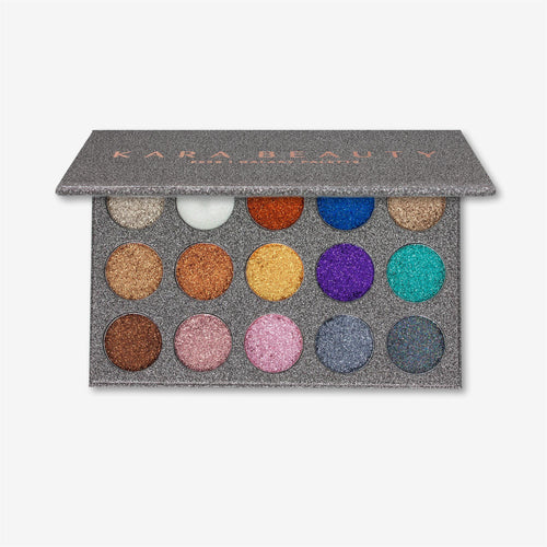 Kara Beauty ES38 GALAXY <br> Glitter Eyeshadow Palette