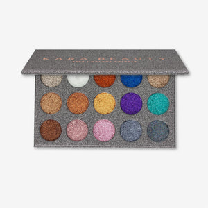 ES38 15 COLOR <br> Galaxy Glitter Palette