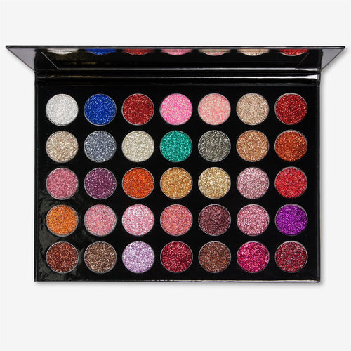 Kara Beauty ES17 GALAXY <br> Glitter Eyeshadow Palette