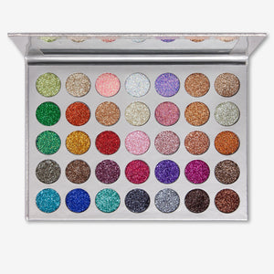 Kara Beauty ES21 GALAXY <br> Glitter Eyeshadow Palette