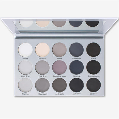 Kara Beauty ES24 SMOKY GREY <br> Eyeshadow Palette