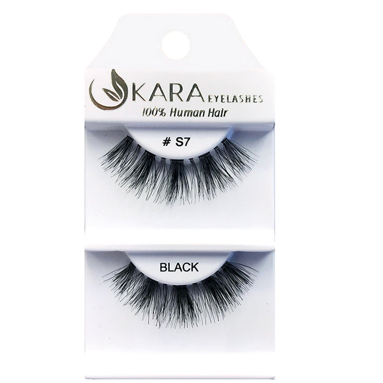 S7 HUMAN HAIR <BR> Eyelashes