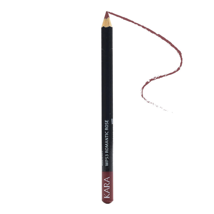 Kara Beauty High Quality Ultra Fine Lip Liner Pencil - WP53 - Romantic Rose