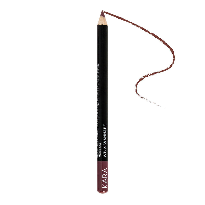 Kara Beauty High Quality Ultra Fine Lip Liner Pencil - WP66 - Wannabe