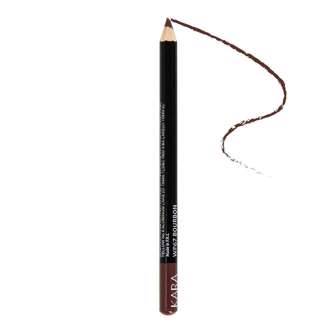 Kara Beauty High Quality Ultra Fine Lip Liner Pencil - WP67 - Bourbon