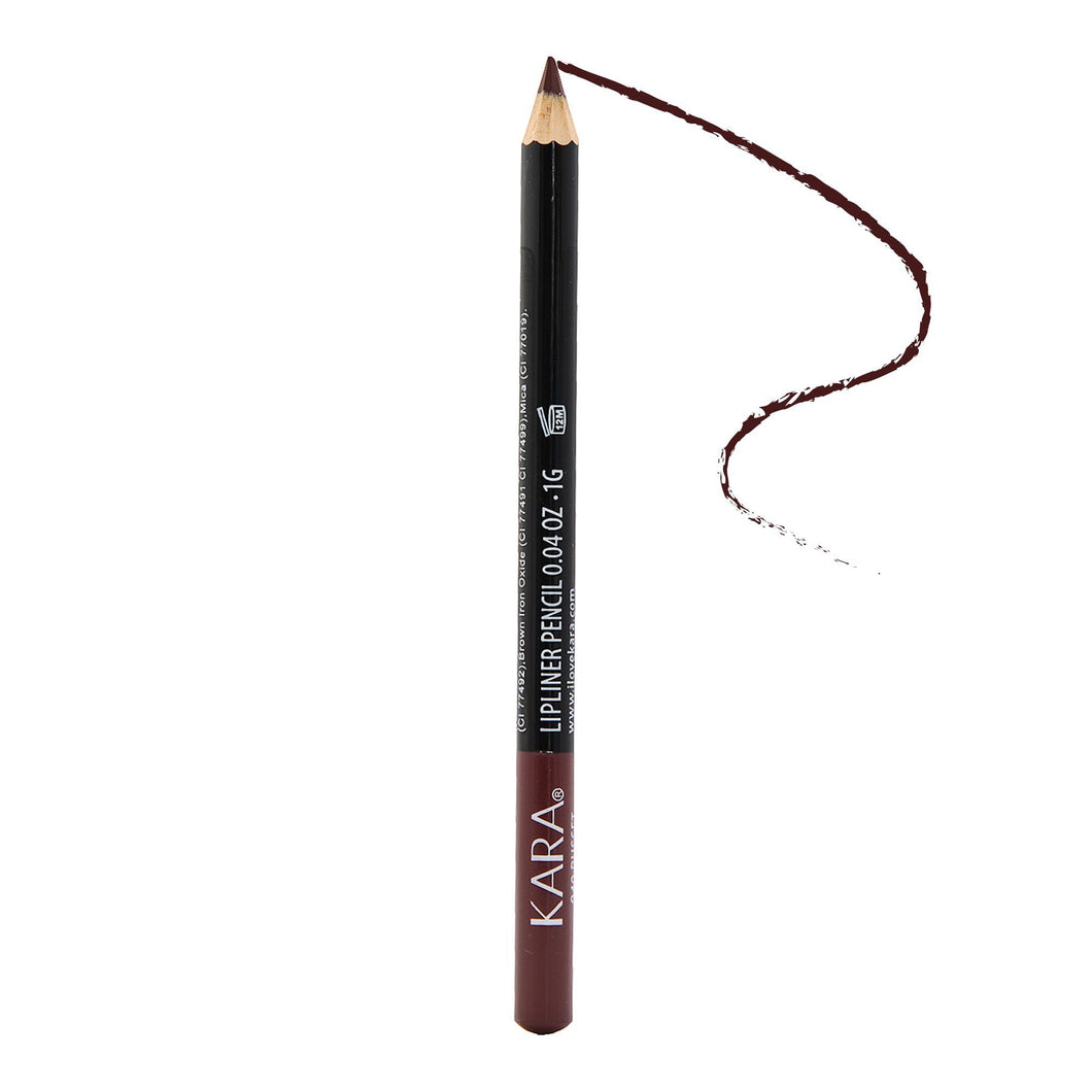 Kara Beauty High Quality Ultra Fine Lip Liner Pencil - WP940 - Russet