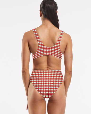 '87 Tank One Piece Swimsuit CheckMate