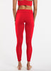Essential Legging Red