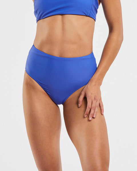 Dive Tie Back Brief in  Blue-Crush