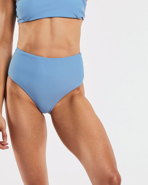 Dive Tie Back Brief in  Glacier-Blue