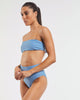 Dive Bandeau Bra in  Glacier-Blue