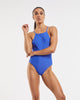 90's High Neck One Piece Blue Crush