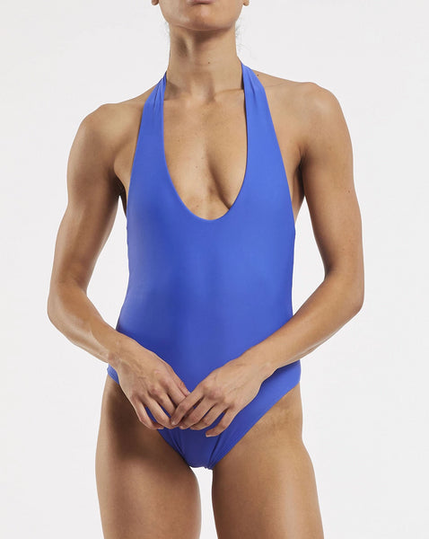 Soft Plunge One Piece Blue Crush