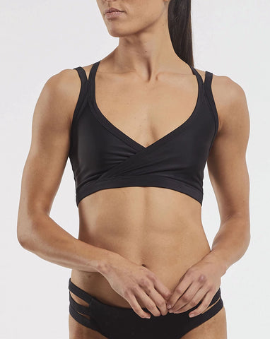 Studio Sports Crop - Black