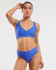 Studio Sports Crop - Blue Crush