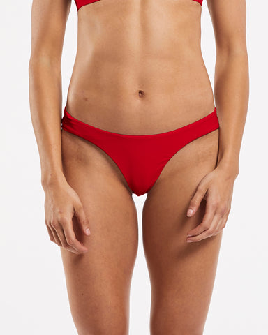 Seamless Brief in Riot-Red