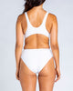 '87 Tank One Piece Swimsuit in Lemon