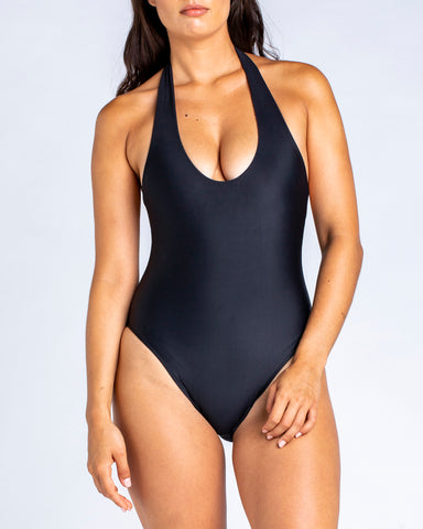 Soft Plunge One Piece Riot-Red