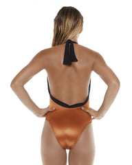 Low Back One Piece Copper