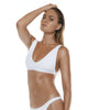 Apex Bra White