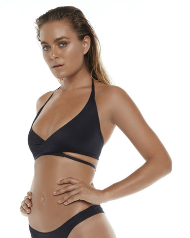 Criss Cross Bra - Black