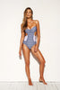 Scuba Bandeau One Piece Stripe