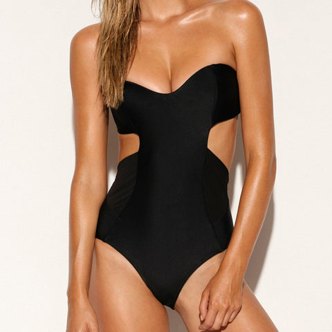 Scuba Bandeau One Piece Jet