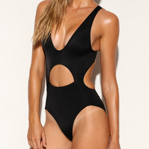 '87 Tank One Piece Swimsuit Jet