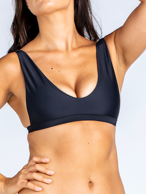 Apex Bra Plain Black