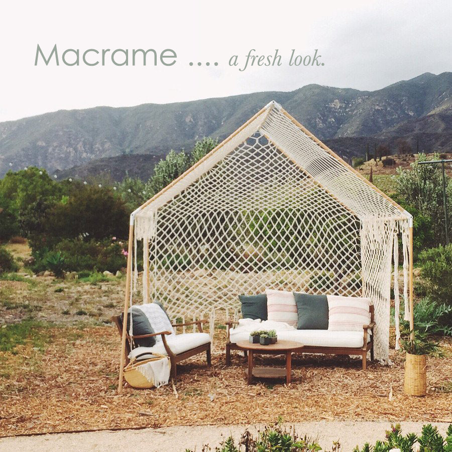 Macramé - a fresh look