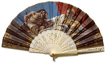 Vintage and Antique Hand Fan AF001