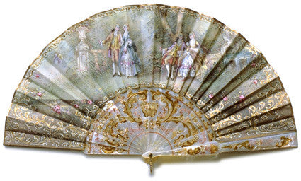 Antique and Vintage Hand Fan AF004