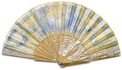 Antique and Vintage Hand Fan AF006