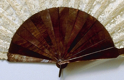 Antique and Vintage Hand Fan AF010