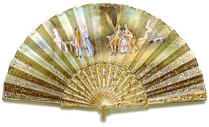Antique and Vintage Hand Fan AF040