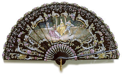 Antique and Vintage Hand Fan AF041
