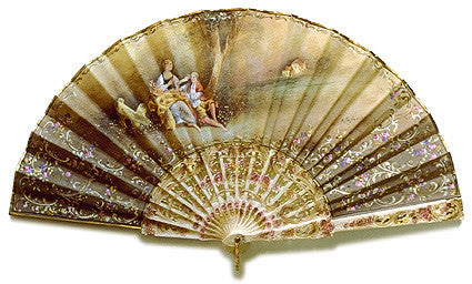 Antique and Vintage Hand Fan AF046