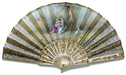Antique and Vintage Hand Fan AF055