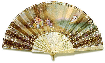 Antique and Vintage Hand Fan AF059
