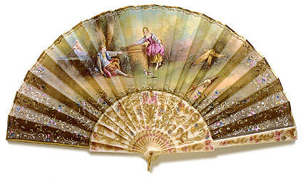 Antique and Vintage Hand Fan AF061